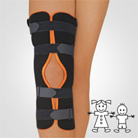 Immobilisation Splint with Patella Recess
