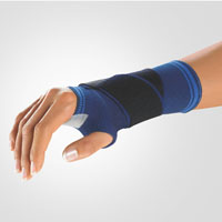 Wrist Support with Thumb Opening