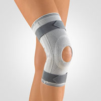 Knee Support with Articulated Joint