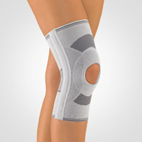 Knee Support with Patella Recess